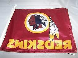 1 Washington Redskins NFL Team Logo Auto Truck Car Flag
