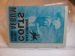 1969 Topps Football Mini Card Album Singles