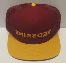 1970/1980's Vintage WASHINGTON REDSKINS New Era Mesh Back Sn