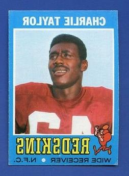 1971 Topps # 26 Charlie Taylor HOF Washington Redskins EX+