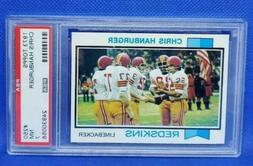 1973 Topps #250 Chris Hanburger Washington Redskins PSA 7 NM