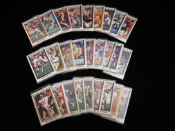 1989 Panini NFL Team Sets 28 Teams ..... Pick from the drop