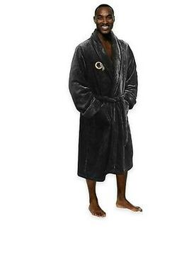 NEW NFL Washington Redskins Men's Silk Touch Lounge Robe Bat