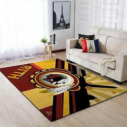 2 washington redskins area rugs living room