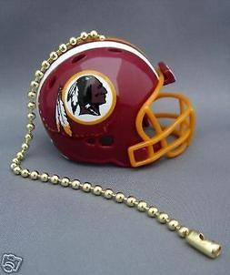 2 WASHINGTON REDSKINS LIGHT/FAN PULL & CHAIN  NFL FOOTBALL H