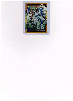 2017 Donruss Football Brian Quick #244 Base Jersey # Paralle