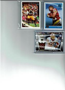 2018 Donruss Football Washington Redskins Team Set  Base Car