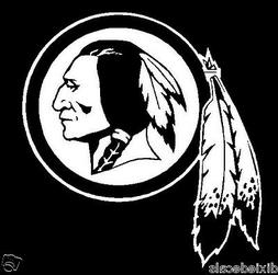 "6"" Washington Redskins Vinyl Decals Window Laptop Stickers W"