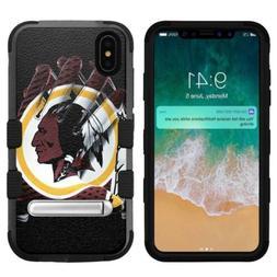 for Apple iPhone Xs Max , Hard+Rubber Rugged Case Washington