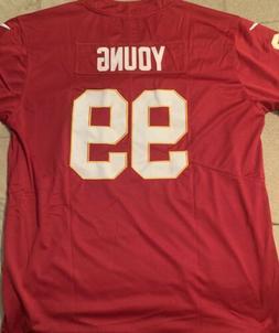 Chase Young Burgundy Jersey Washington Redskins - Large - Br