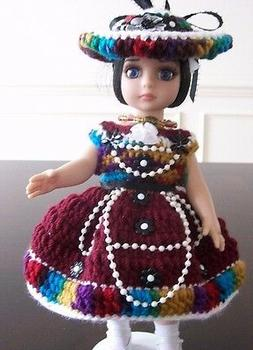 """HANDMADE CROCHET CLOTHING & ACCESSORIES FOR 10""""  DOLLS - Sel"""