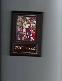 DARRELL GREEN PLAQUE WASHINGTON REDSKINS FOOTBALL NFL