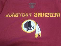 NFL Team Apparel Equipment Washington Redskins Red T-Shirt S