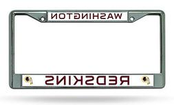 NEW Fanmats Detroit Lions License Plate Frame Cover Chrome N