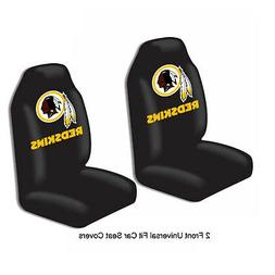 NFL Washington Redskins Car Truck 2 Front Seat Covers Set -