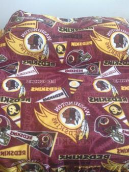 Fleece Blanket And 2 Pillow Set- Washington Redskins