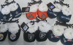 Football Infant Newborn Baby Booties Slippers NEW Shower Gif