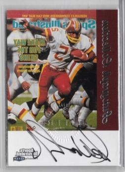 Joe Washington Redskins 1999 Fleer Sports Illustrated Auto A