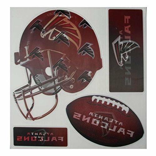 4-Piece Redskins Falcons Bengals Chargers Car Locker