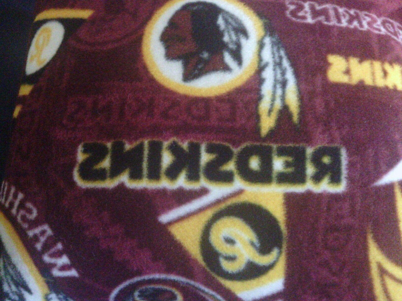 Fleece And 2 Pillow Redskins
