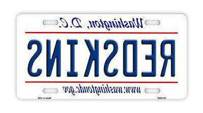 metal vanity license plate tag cover washington