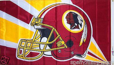 new 3x5 ft washington redskins helmet banner