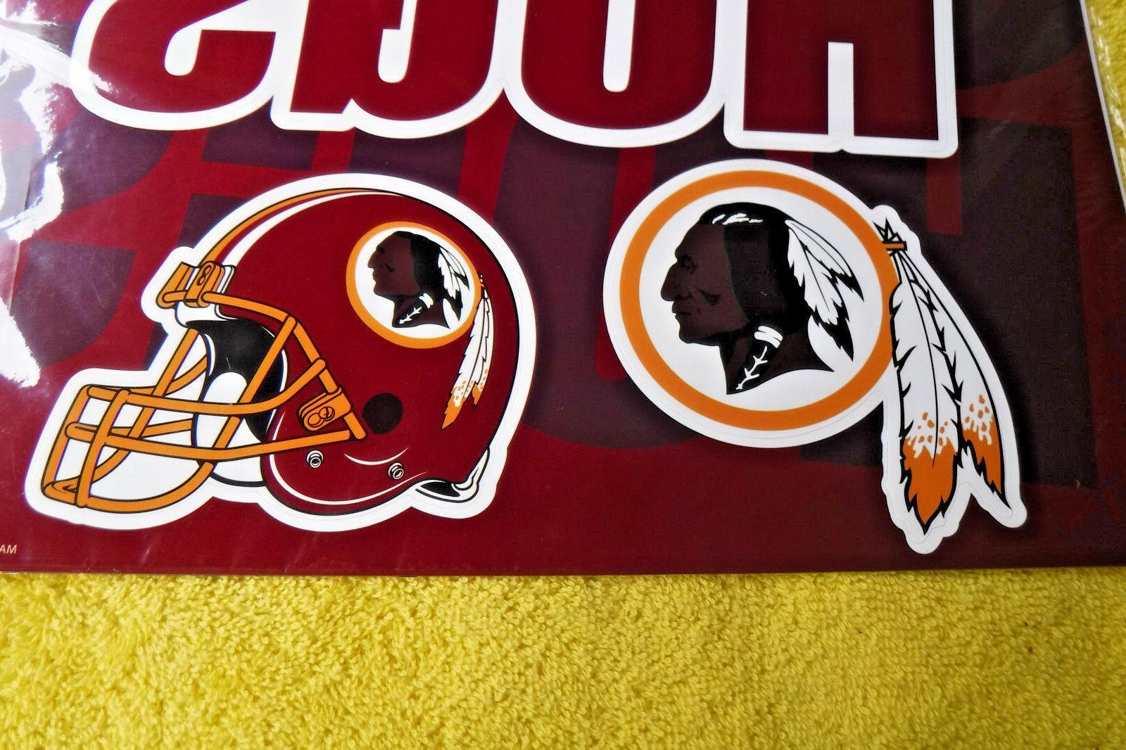 NEW/SEALED IN WASHINGTON NFL MAGNETS