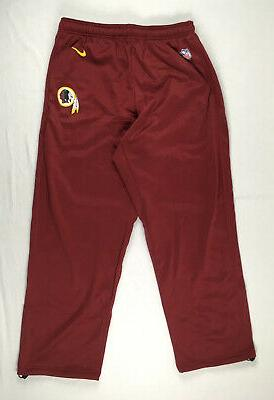 new washington redskins maroon poly athletic pants
