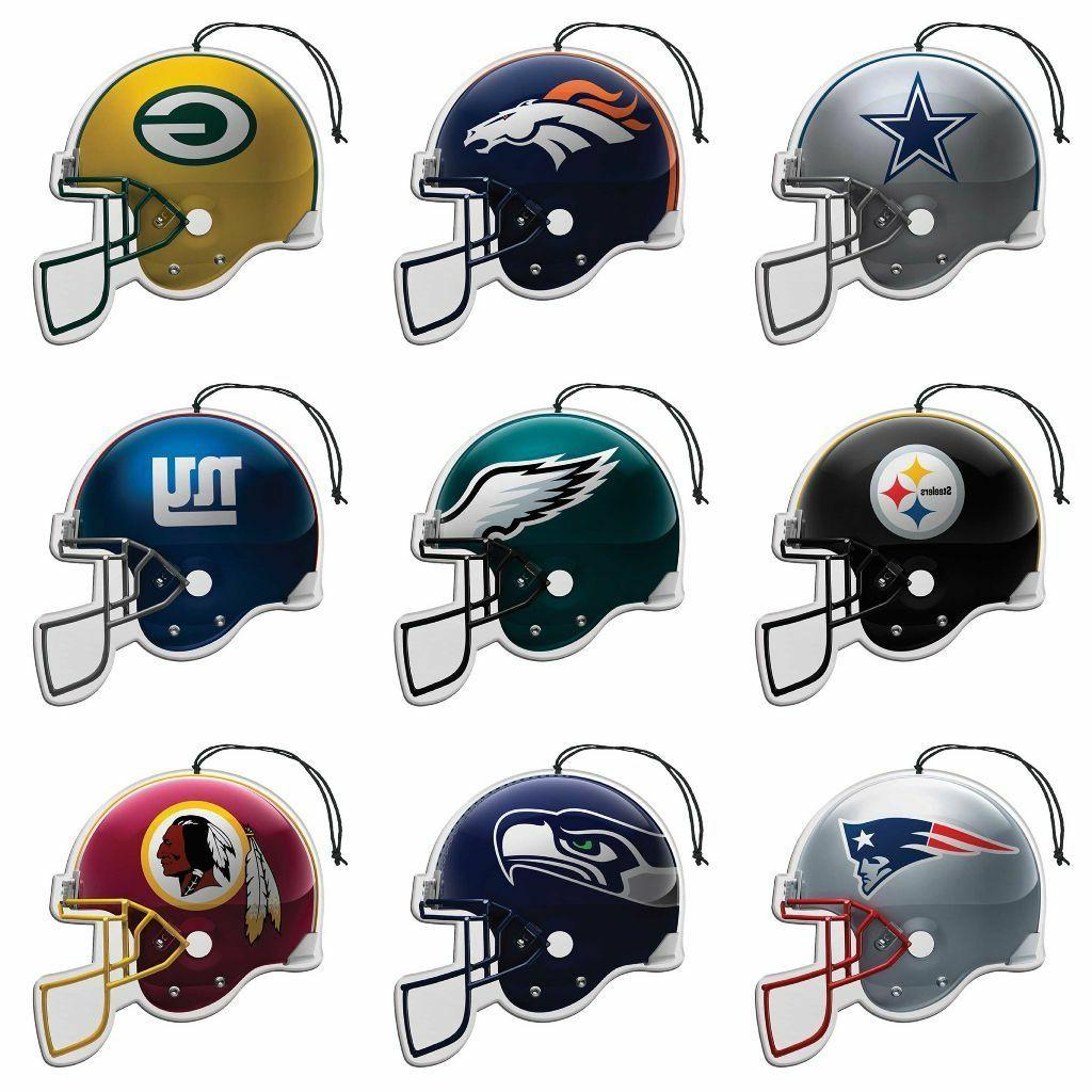nfl air freshener 3 pack pick your