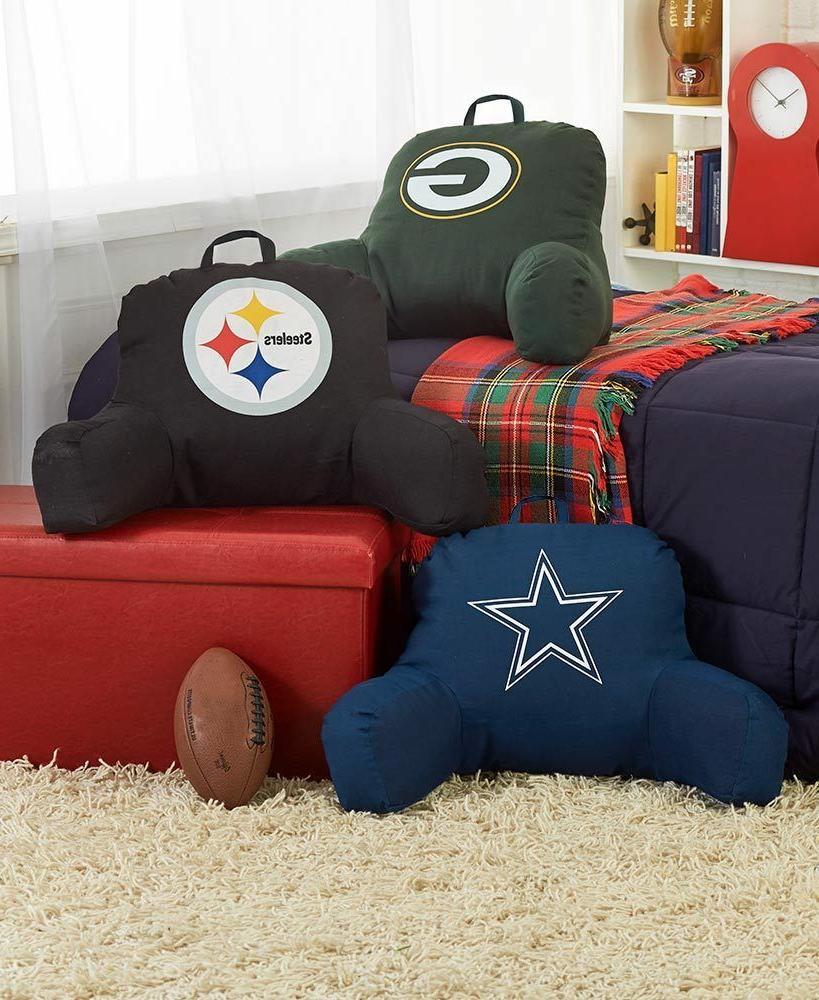 nfl logo bed rest pillow football sport