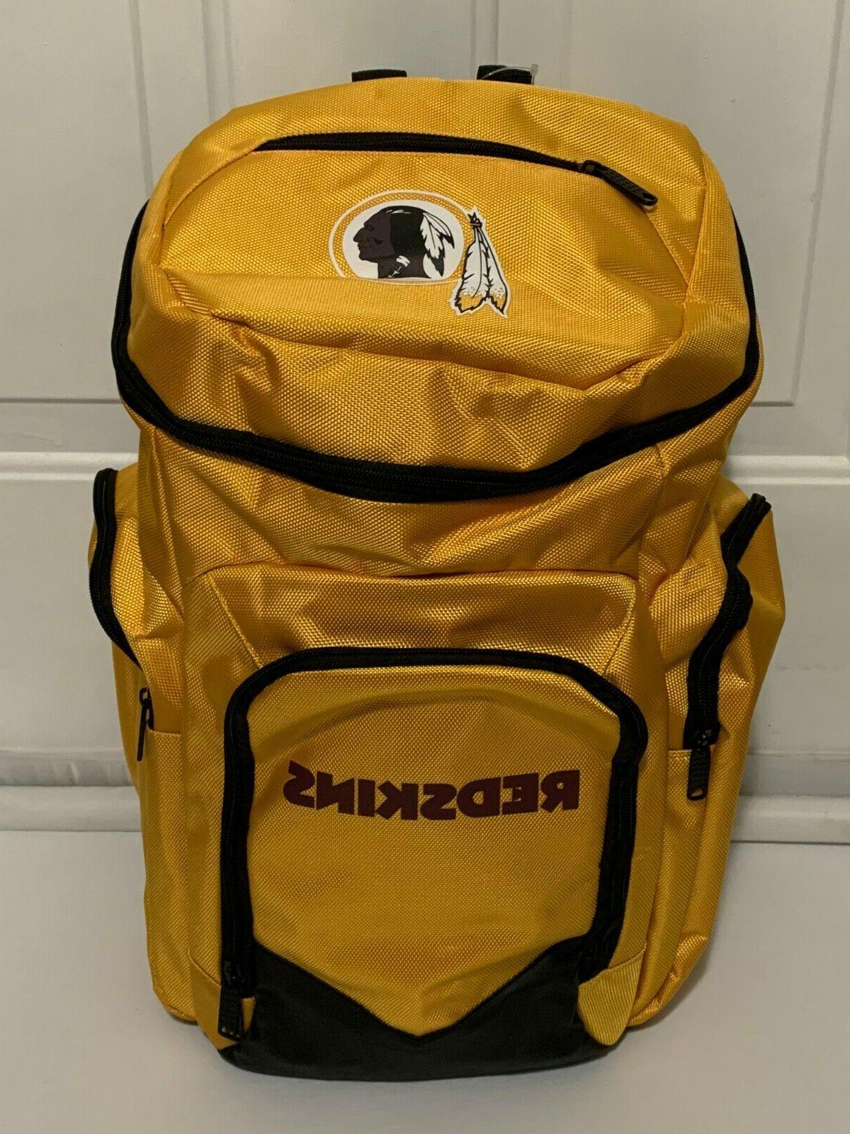 NFL Traveler Washington Redskins Football Pocket Bookbag