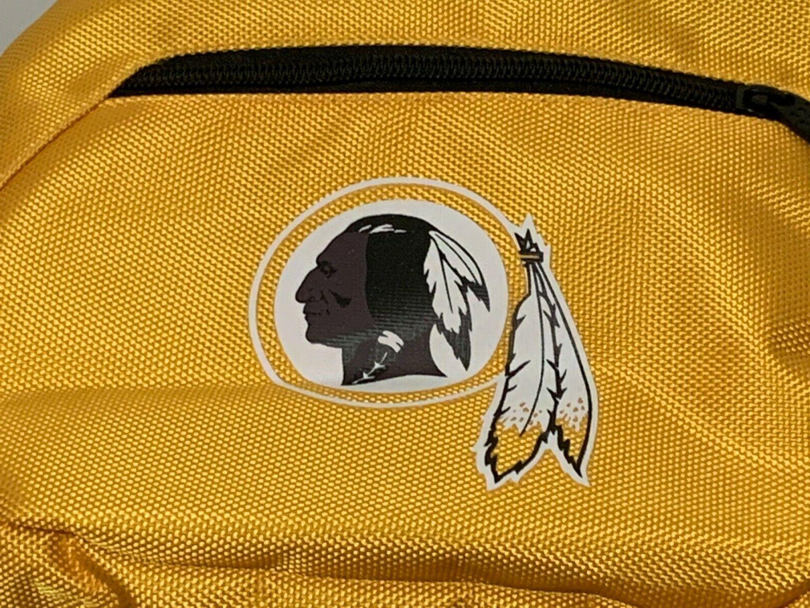 NFL Traveler Washington Redskins Football Team Pocket Bookbag