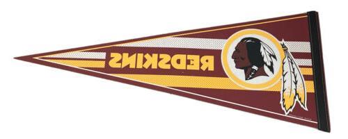 nfl washington redskins football large pennant 12