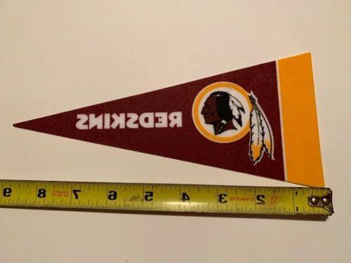 NFL Washington Redskins Mini Pennant Football Decor