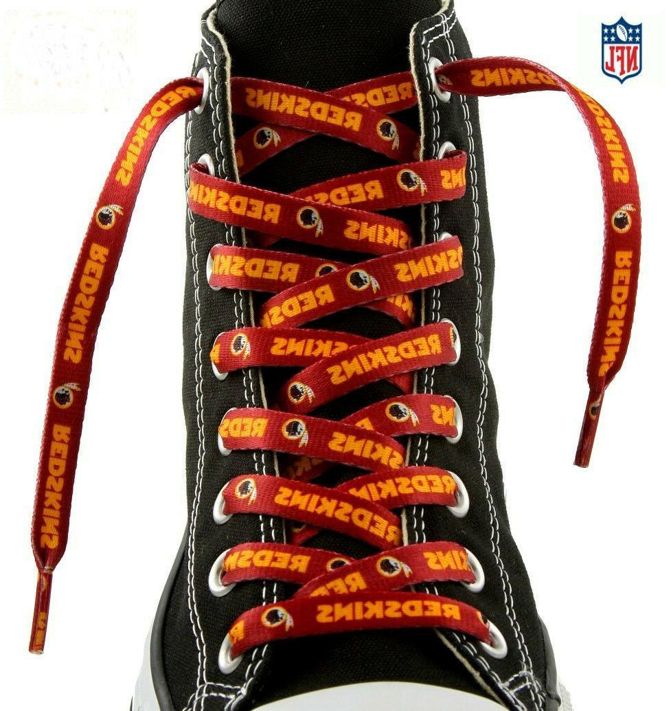 nfl washington redskins team logo lace ups