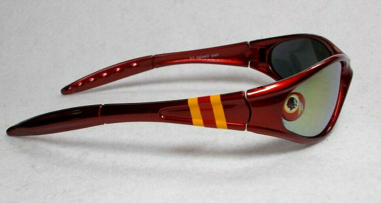 Read Listing! Washington Redskins XL LOGO Wrap Sunglasses. Pc set!