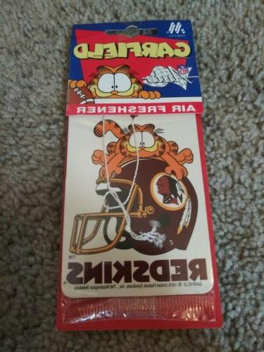 Vintage 1978 Washington redskins Freshener NISP!