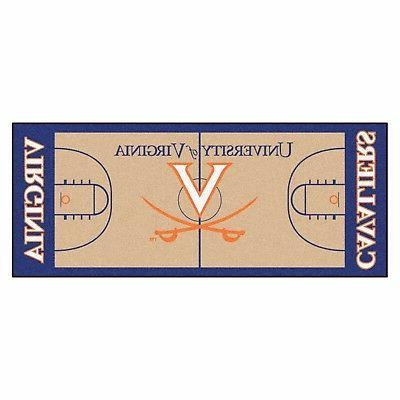 """Virginia Cavaliers 72"""" Area"""