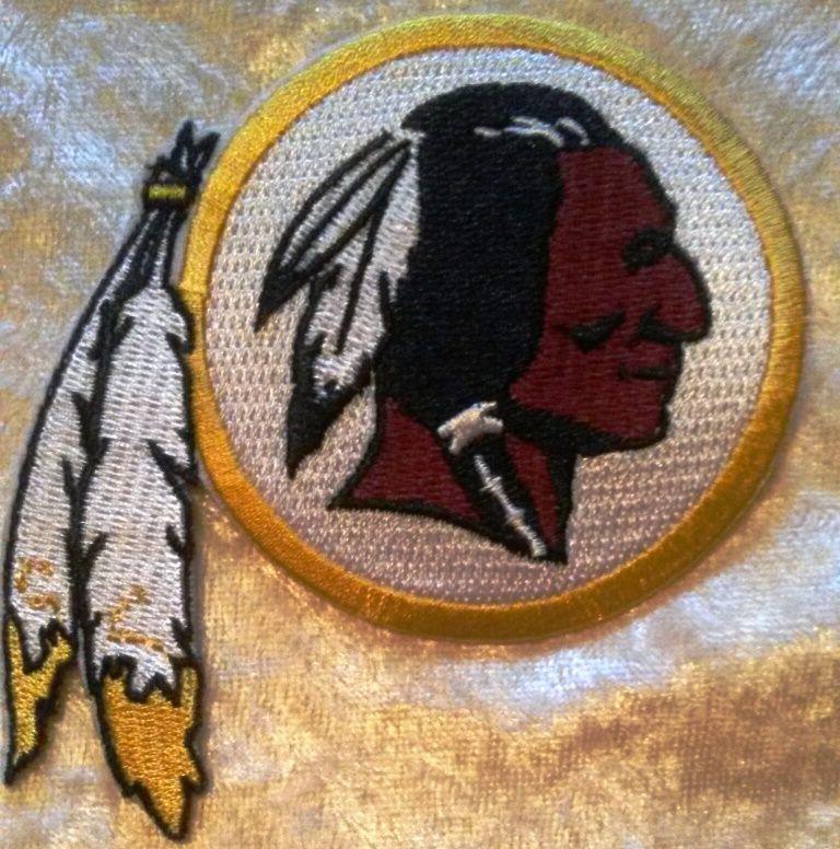 "Washington 3.5"" On Embroidered ~FREE Ship!"