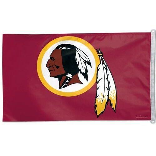 washington redskins 3x5 banner flag nfl football