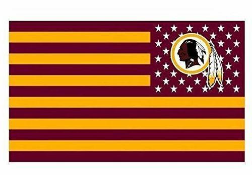 washington redskins 3x5 foot american flag banner