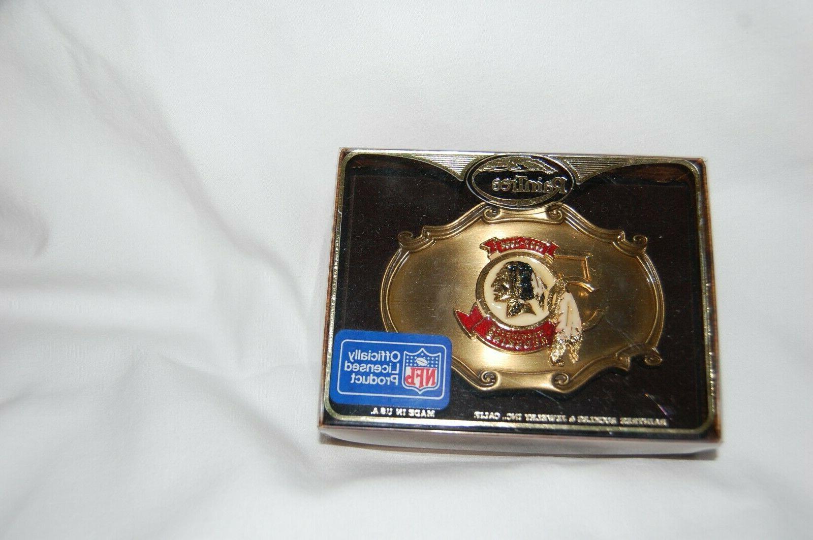 Washington Redskins 50th Year  Belt Buckle