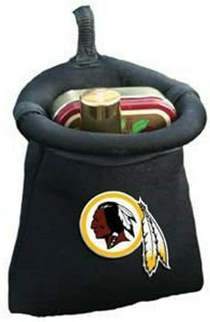 washington redskins auto pouch cell phone holder