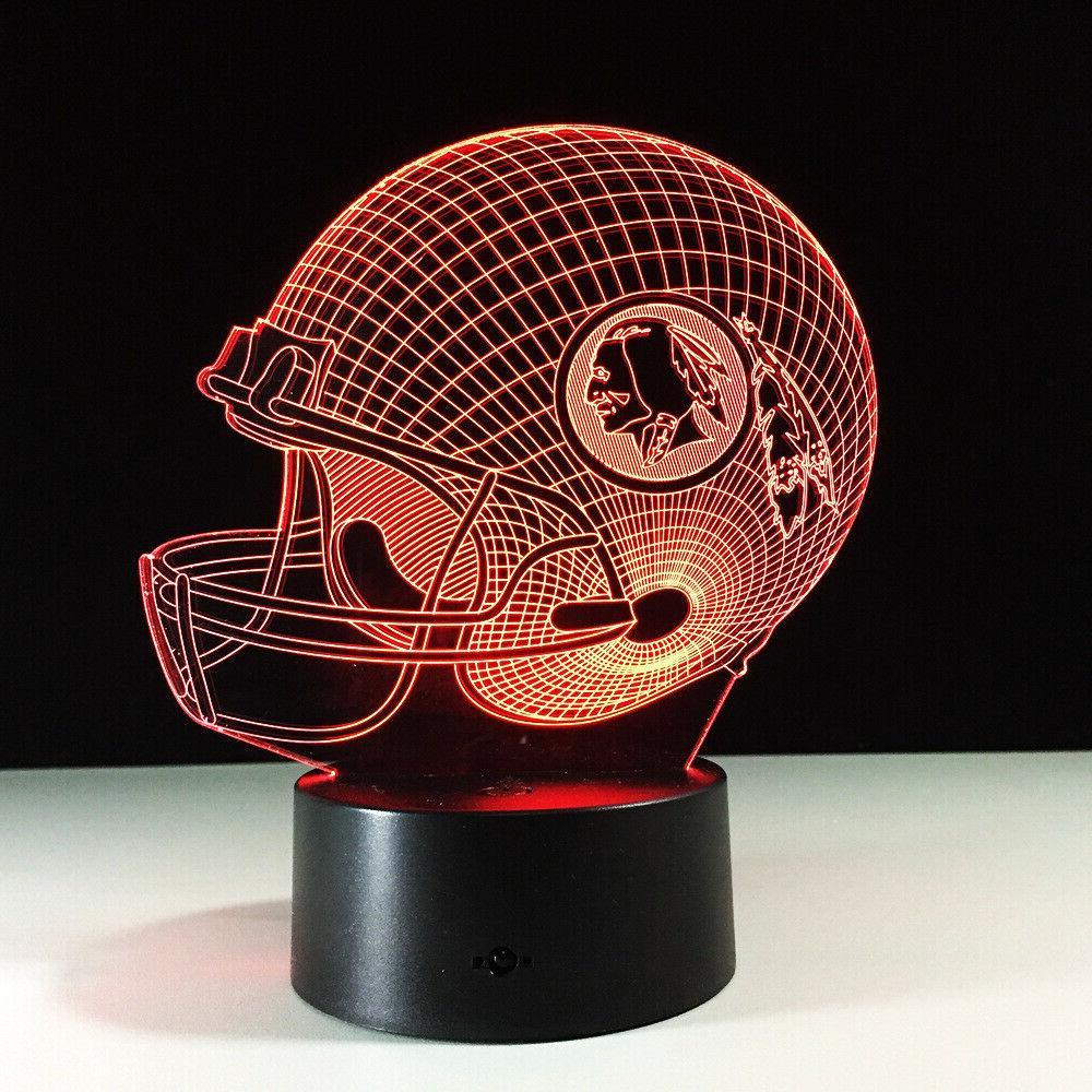 washington redskins alex smith led lamp home