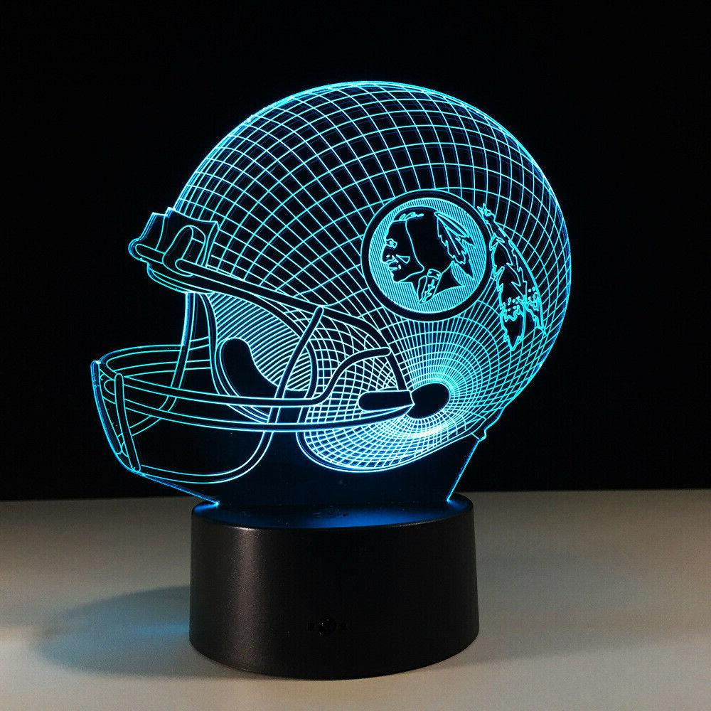 Washington Redskins Alex LED Lamp Gift Collectible Souvenir