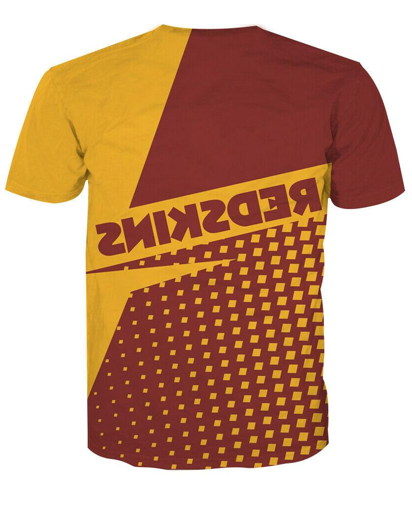 Washington Redskins Sports Tee Top Souvenir