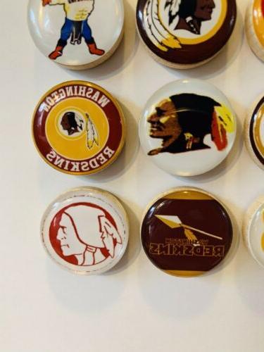 Washington Redskins Set of 12 - FREE