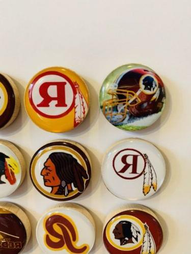 Washington Redskins Magnets Set of FREE