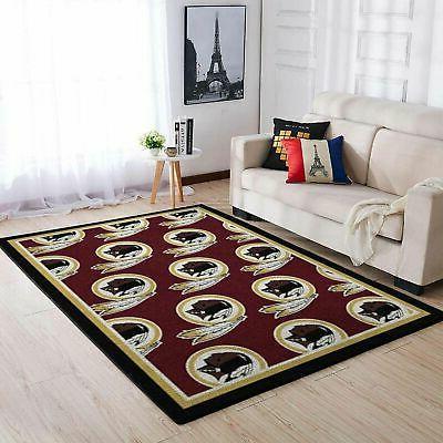 washington redskins nfl area rugs living room