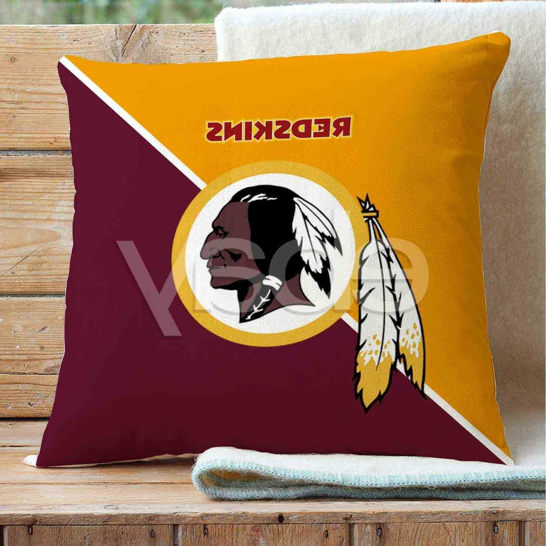 washington redskins nfl custom pillows car sofa